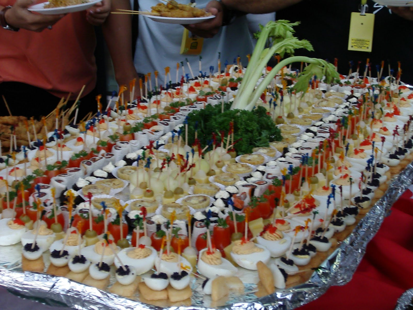 Ideas para preparar canap s julio 2010 - Como hacer un canape ...