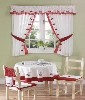 Vida y hogar ideas para hacer cortinas de cocina - Ideas cortinas cocina ...