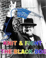 Knit & Fight the Black Dog