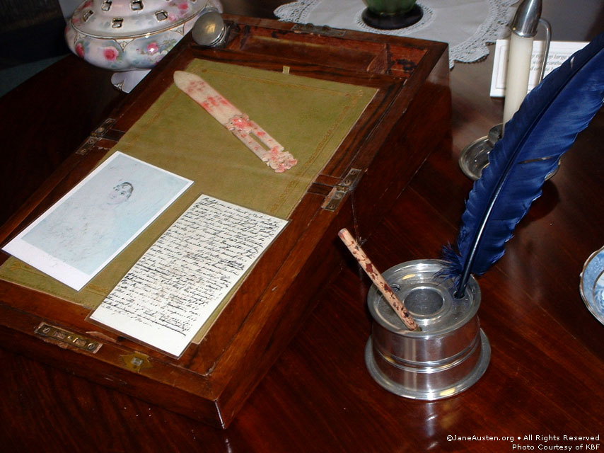 jane austen  letters and mail