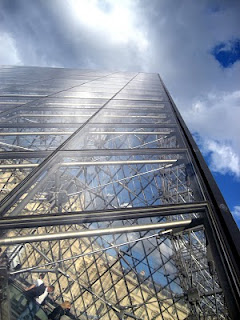Louvre Moseum glass pyramid paris