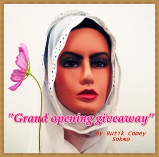 :: GRAND OPENING GIVEAWAY by Butik Comey Sokmo ::