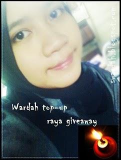 :: Wardah top-up raya giveaway ::
