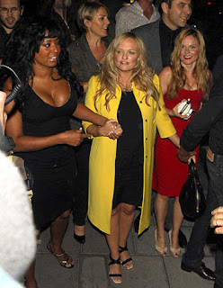 spice1 Spice Girls Photos at David Beckhams 32rd Birthday
