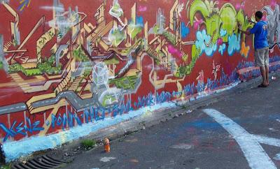 alphabet graffiti, graffiti murals, alphabet graffiti