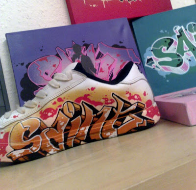 graffiti art, graffiti canvas, alphabet graffiti