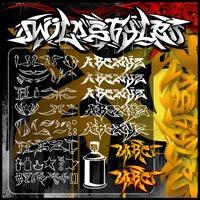 graffiti alphabet, alphabet graffiti, graffiti letters