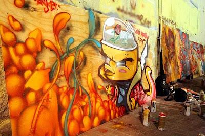 graffiti murals, alphabet graffiti, graffiti art