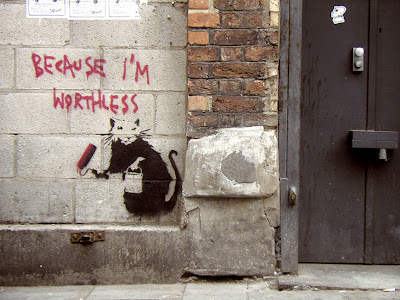 banksy graffiti flower. Banksy+graffiti+stencils