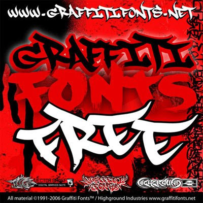 lettering fonts and styles. Alphabet Graffiti Font Style