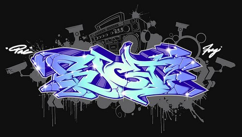 3d graffiti alphabet letters z. 3D Graffiti Alphabet Bubble