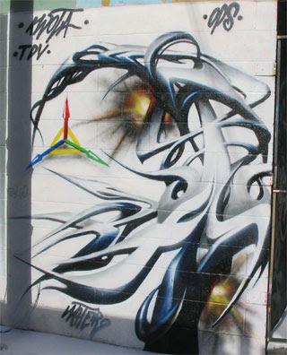 graffiti alphabet