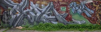 Amazing 3D Murals Graffiti Dangerous Style