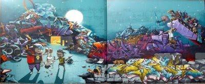 alphabet graffiti-graffiti murals