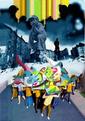 graffiti art, murals graffiti