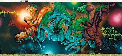 art, graffiti art, alphabet graffiti