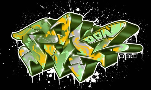 3d Graffiti Letters Www Bilderbeste Com
