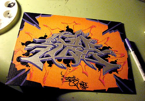 3D Alphabet Graffiti Letters Cool Design