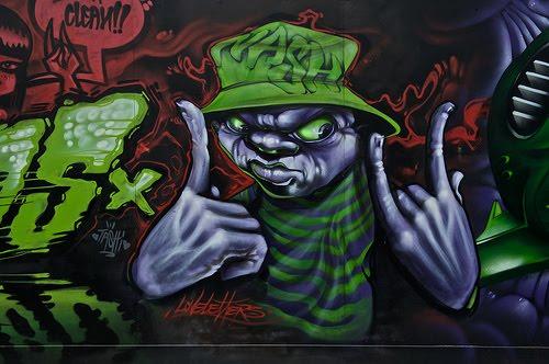 graffiti art letters. graffiti art letters.