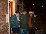 Madrugada nevada