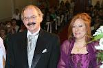 Elvira y yó, Padrinos del Casamiento de Virginia y Gastón.