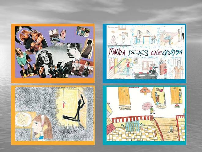 Dibujos ganadores en el I Certamen de Dibujo y pintura Coeducativo