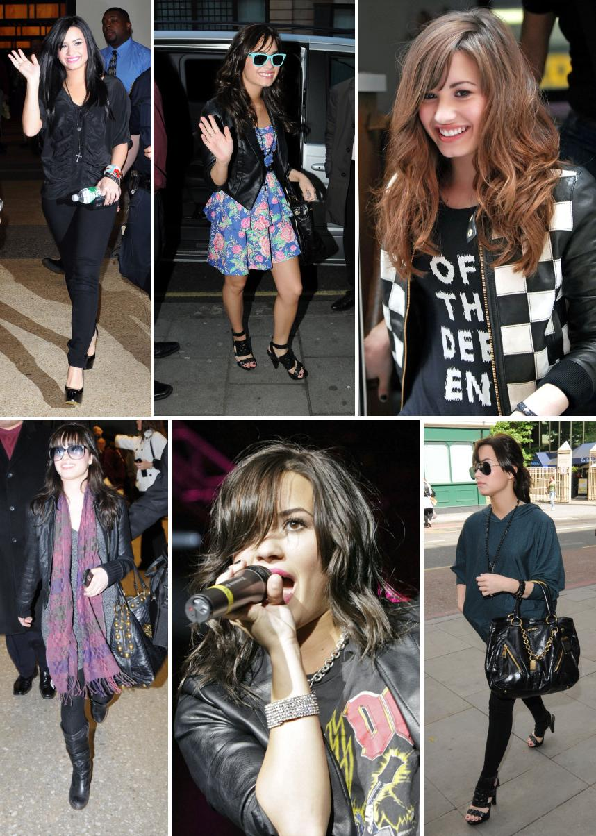 demi lovato fashion