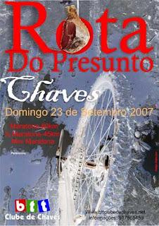 III Maratona rota do presunto - Chaves