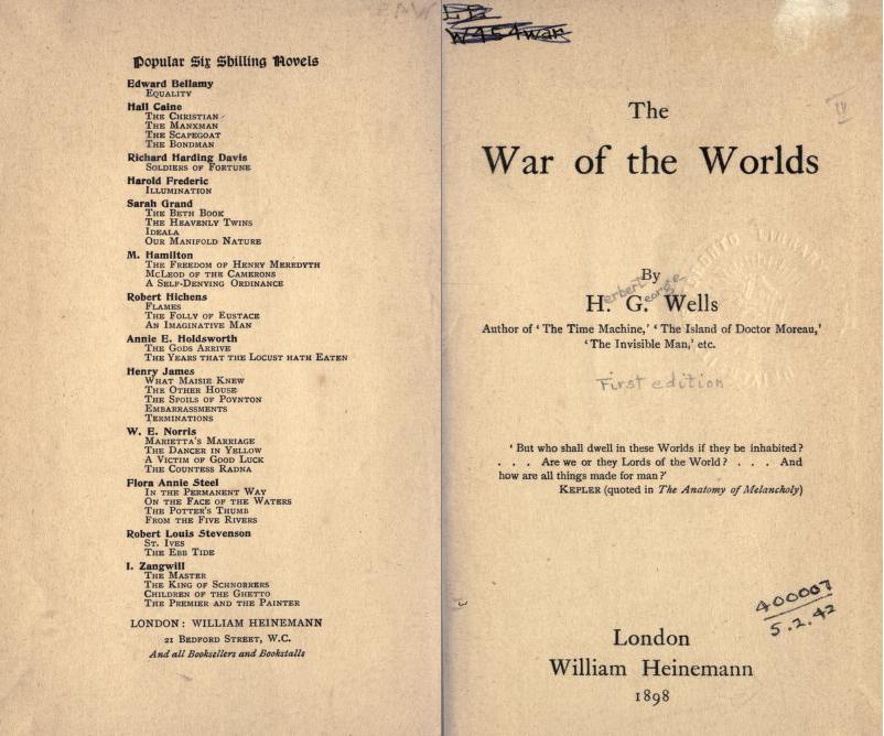 war of the worlds tripod jeff wayne. War of the Worlds,