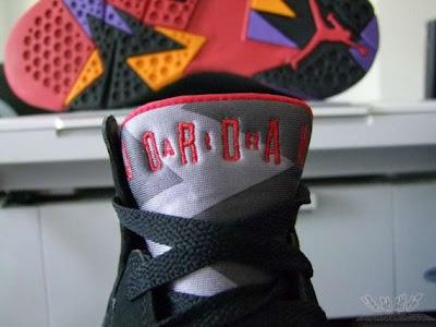 Air Jordan 7 Retro Bulls vs Magic 60+ Pack White Royal shoes