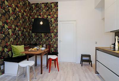 Decoración de casas pequeñas: Un apartamento de 46 metros cuadrados