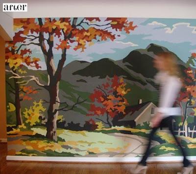 Antes y después: El otoño en tu pasillo, tutorial, pintar paredes