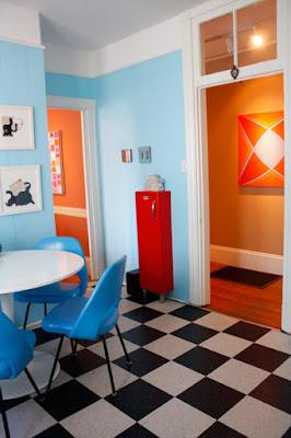 En casa de, decoración, casas, diseño, casas pequeñas
