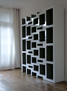 Estantería de diseño expandible, Reinier de Jong