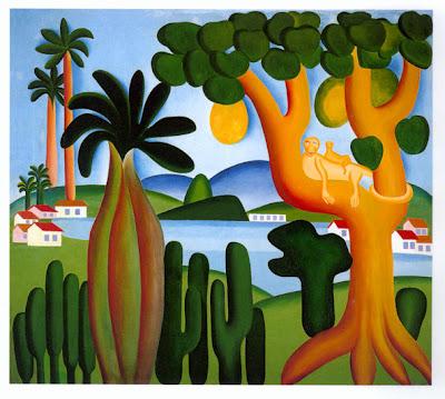 Tarsila do Amaral, artistas, pintura brasileña, exposiciones