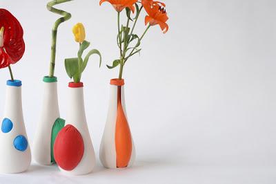 tiestos, macetas, globos, decoracion, diseño