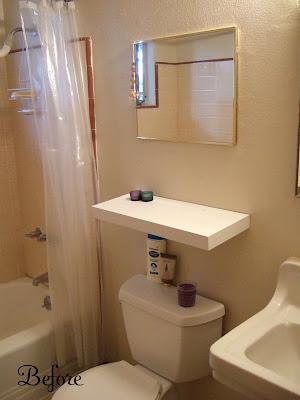 Antes y Después/Before and After, ganar espacio en el baño
