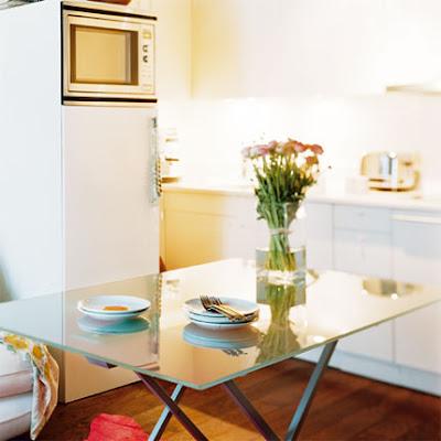 Decoración de pequeños espacios: Una casa de 26 metros cuadrados