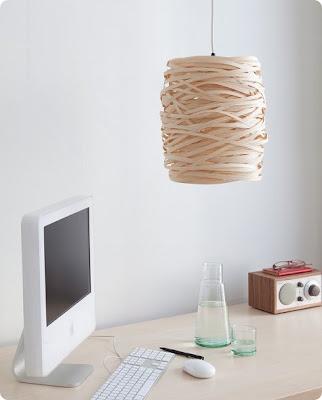 Hecho a mano/Handmade, Diseño, lámapra de papelitos