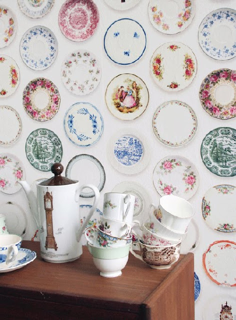 Wallpaper de porcelanas