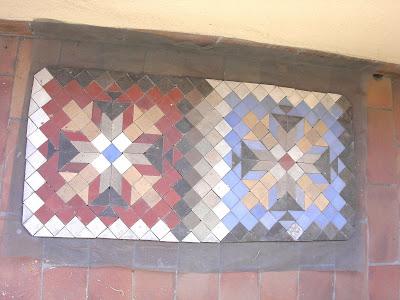 taracea, felpudo de piedra, mosaico, azulejos