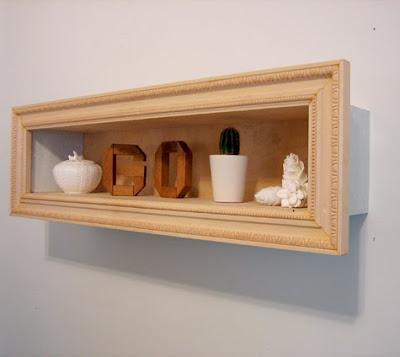 Tutorial: Cómo hacer una estantería/cuadro