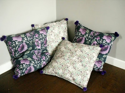Almohadas hecha a mano