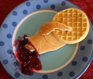 pancake hand