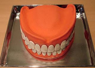 teeth cake