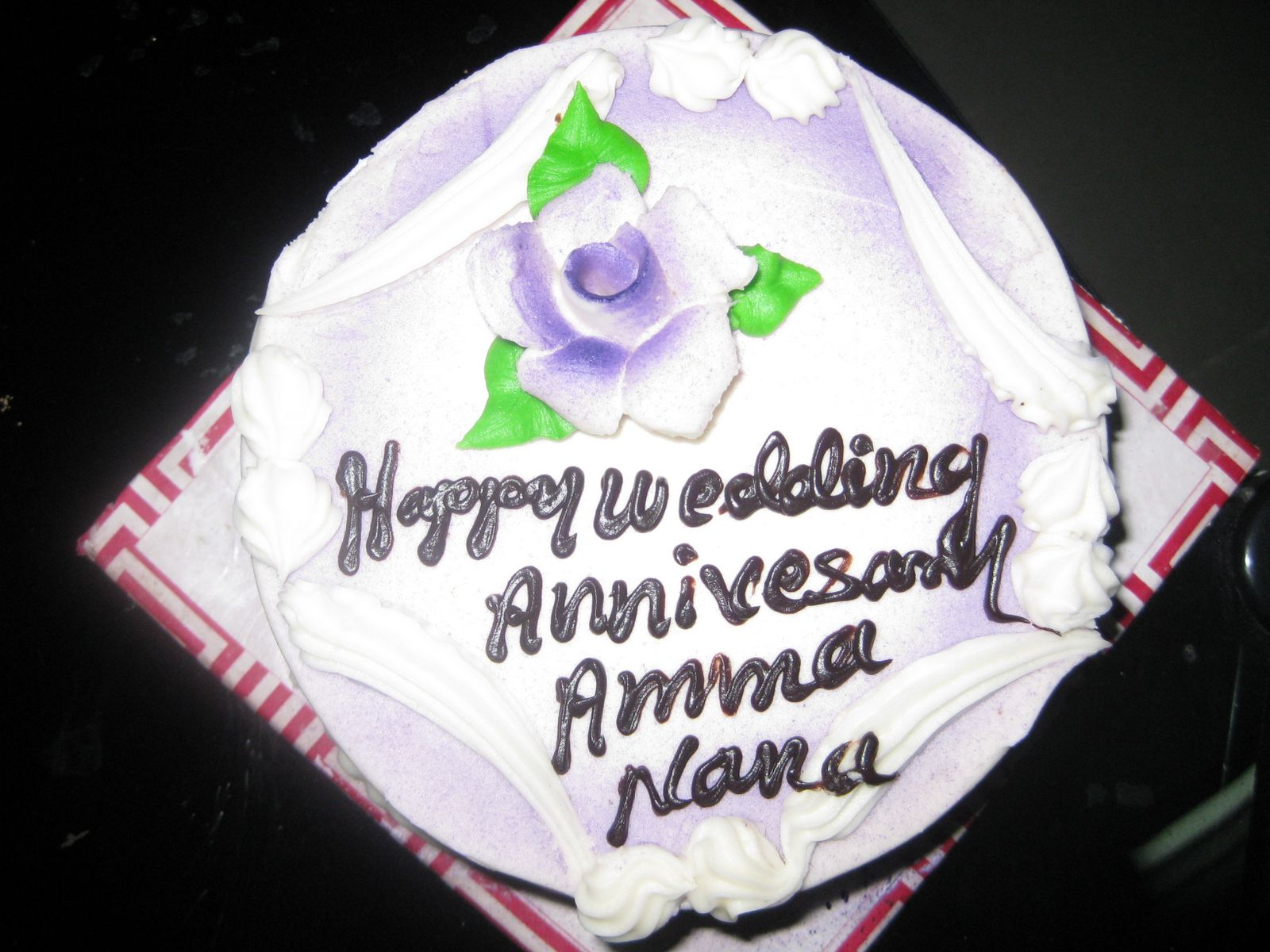 Siri\'s Kitchen: Happy Wedding Anniversary Amma Nana
