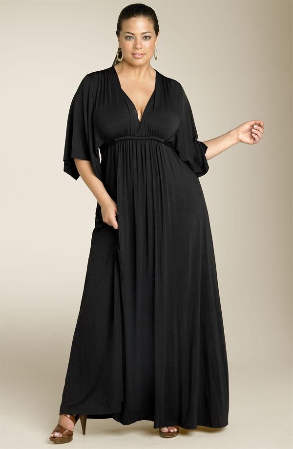 vestidos de festa para gordas. Tirando o decote o vestido é