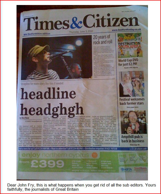 Front page newspaper template newspaper front page template at newspaper front pages saigontimesfo