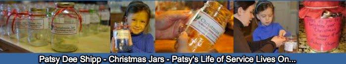 Patsy Dee Shipp - Christmas Jars