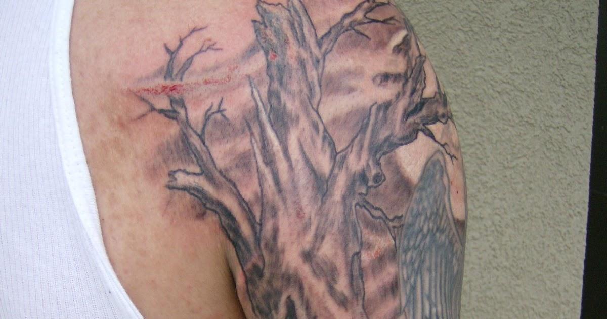 jersey tattoo dark graveyard tattoo. Black Bedroom Furniture Sets. Home Design Ideas